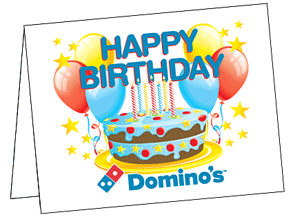 birthday coupon dominos