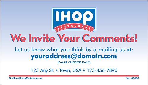 ihop customer satisfaction feedback Archives - Customer ... |Ihop Comments