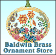 Baldwin and ChemArt Brass Ornaments